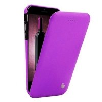 Чехол Jisoncase для iPhone 6 Genuine Flip Case фиолетовый