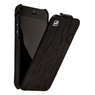 Чехол Hoco для iPhone 5 / 5s Knight Leather Case черный
