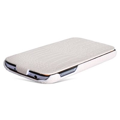 Чехол Borofone для Samsung Galaxy S4 i9500/ i9505 - Borofone Crocodile Leather case White