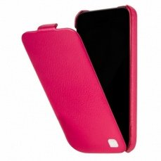 Чехол Hoco для iPhone 5с Duke Leather Case Apple фуксия