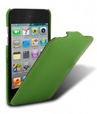 Чехол Melkco для iPod Touch 4th Leather Case Jacka Type (Green LC)