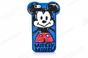 Чехол Disney для iPhone 5 / 5s Mickey Mouse вид 2