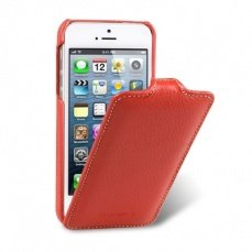 Чехол Melkco для iPhone 5 / 5s Leather Case Jacka Type красный