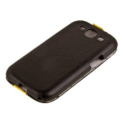 Чехол Melkco для Samsung Galaxy S3 i9300 Limited Edition Jacka Type (Black / Yellow LC)