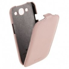 Чехол Melkco для Samsung Galaxy S3 i9300 Leather Case Jacka Type (Pink LC)