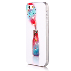 Чехол Swarovski для iPhone 5 / 5s Joyroom Бутылка колы