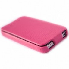 Чехол Hoco для iPhone 4 / 4s Duke Leather Case розовый