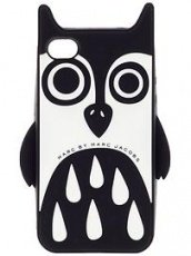 Чехол Marc Jacobs для iPhone 5 / 5s Night Owl черный