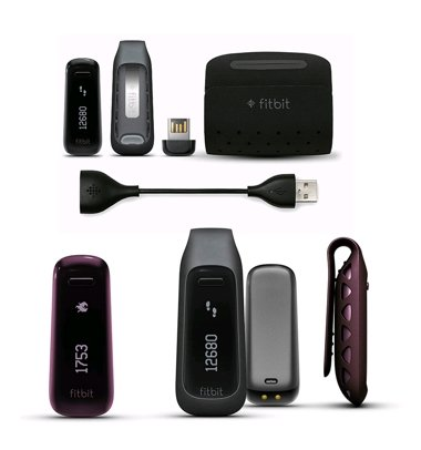 Беспроводной шагомер Fitbit One Wireless Activity + Sleep Tracker (Черный)