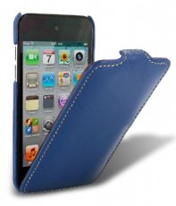 Чехол Melkco для iPod Touch 4th Leather Case Jacka Type (Blue LC)