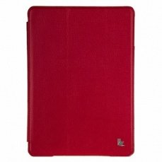 Чехол Jisoncase для iPad Air PU красный