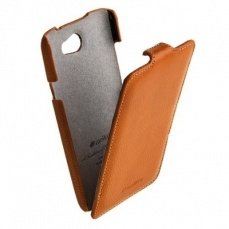 Чехол Melkco для HTC One X Leather Case Jacka Type оранжевый