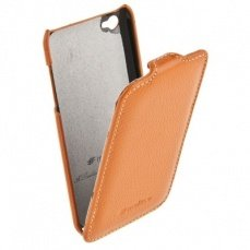 Чехол Melkco для iPod Touch 4th Leather Case Jacka Type (Orange LC)