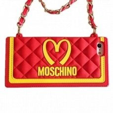 Чехол Moschino для iPhone 5 / 5S Mcdonalds Bag