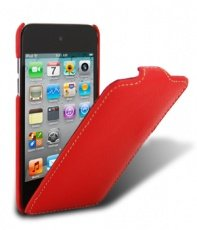 Чехол Melkco для iPod Touch 4th Leather Case Jacka Type (Red LC)