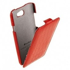 Чехол Melkcoдля HTC One X Leather Case Jacka Type Crocodile Print Pattern красный