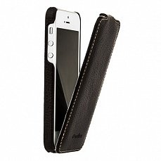 Чехол Melkco для iPhone 5 / 5s Leather Case Jacka Type коричневый