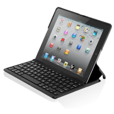Чехол с клавиатурой для iPad 2\3\4 Zagg Folio Bluetooth черный