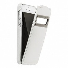 Чехол Melkco для iPhone 5 / 5s Leather Case Jacka ID Type белый