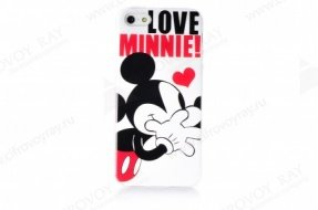 Чехол Disney для iPhone 5 / 5s Love Minnie 2