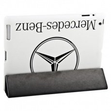 Чехол Jisoncase для iPad 4 / 3 / 2 Mercedes-benz белый