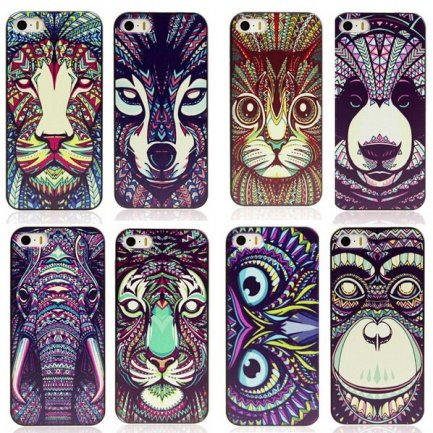 Чехол Luxo для iPhone 6 Animals вид 1