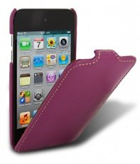 Чехол Melkco для iPod Touch 4th Leather Case Jacka Type (Purple LC)