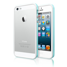 Бампер SGP для iPhone 5 / 5s Neo Hybrid EX Slim Snow Series Голубой