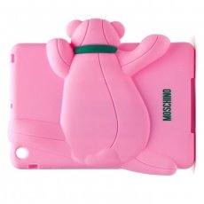 Чехол Moschino для iPad mini / Retina Gennarone Teddy bear розовый