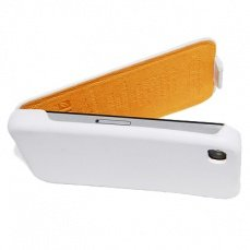 Чехол Hoco для iPhone 4 / 4s Duke Leather Case белый