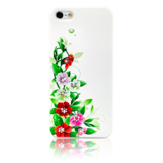 Чехол Swarovski для iPhone 5 / 5s convolvulus