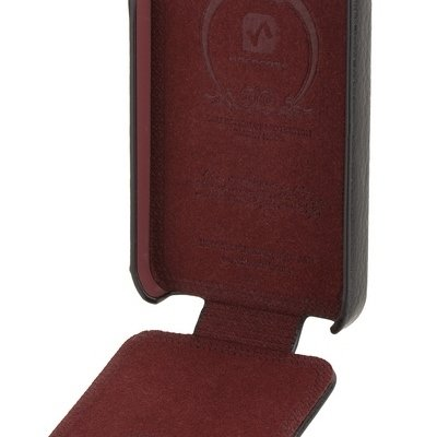 Чехол Hoco для iPhone 5 / 5s Duke Leather Case черный