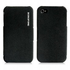 Чехол Borofone для iPhone4 / 4s Pilot Leather Case черный