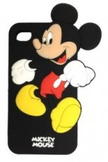 Чехол Disney для iPhone 5 / 5s Mickey Mouse черный