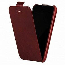 Чехол Borofone для iPhone 5с General flip Leather Case красный