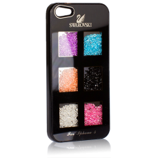 Чехол Swarovski для iPhone 5 / 5s Cubic Gradient черный