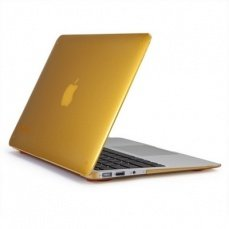 Накладка Speck для MacBook Air 11 SeeThru Butternut Squash золотая