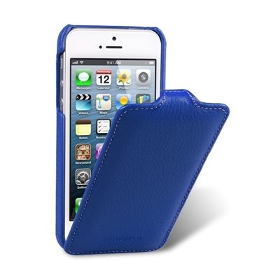Чехол Melkco для iPhone 5 / 5s Leather Case Jacka Type синий