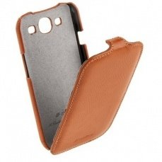 Чехол Melkco для Samsung Galaxy S3 i9300 Leather Case Jacka Type (Orange LC)
