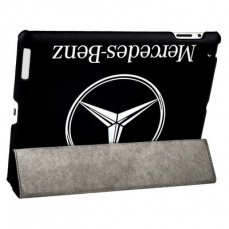 Чехол Jisoncase для iPad 4 / 3 / 2 Mercedes-benz черный