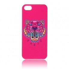 Накладка Kenzo для iPhone 5 / 5s Tiger розовый