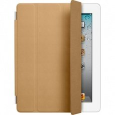 Чехол Apple для iPad 4 / 3 / 2 Leather Smart Cover коричневый