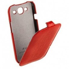 Чехол Melkco для Samsung Galaxy S3 i9300 Leather Case Jacka Type (Crocodile Print Pattern - Red)