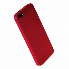 Наклада Ozaki для iPhone 5 / 5s O!coat 0.3 Jelly красная