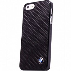 Накладка BMW для iPhone 5 / 5S Signature Hard Real Carbon