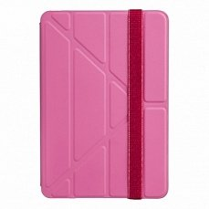 Чехол Ozaki для iPad mini / Retina O! coat Slim-Y 360° smart case розовый