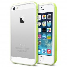 Бампер SGP для iPhone 5 / 5s Neo Hybrid EX Slim Snow Series лайм