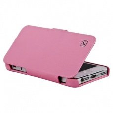 Чехол Hoco для iPhone 5 / 5s Duke folder Leather Case розовый