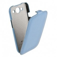 Чехол Melkco для Samsung Galaxy S3 i9300 Leather Case Jacka Type (Blue LC)