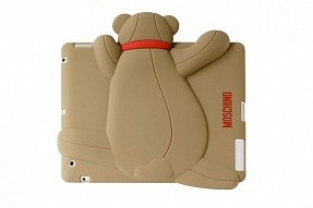 Чехол Moschino для iPad mini / Retina Gennarone Teddy bear коричневый